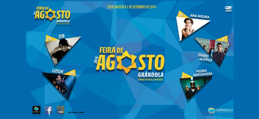 Sons do Rock ao Fado na Feira de Agosto 2014  – Grândola