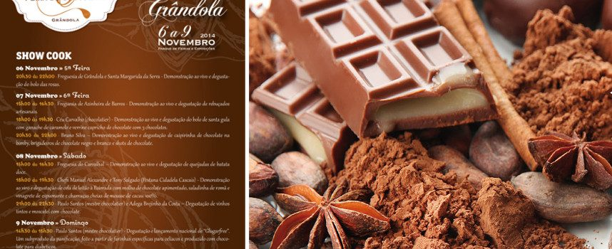 Grândola é a capital do chocolate de 6 a 9 de novembro