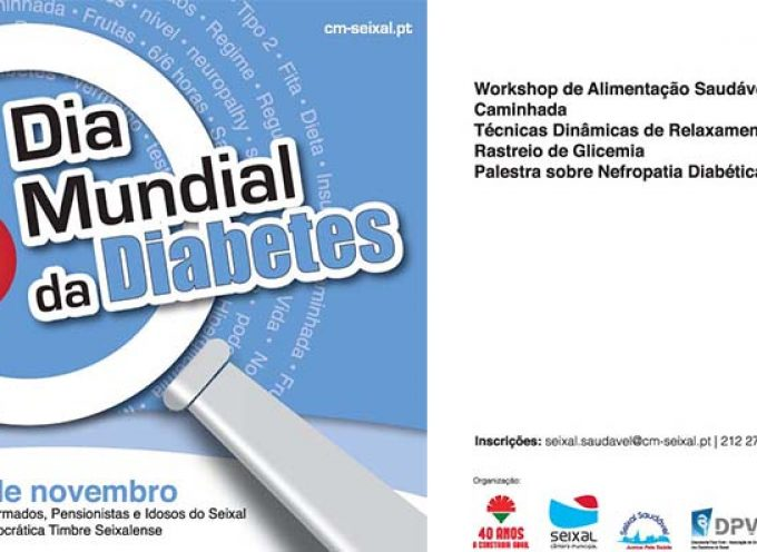 Seixal assinala Dia Mundial da Diabetes