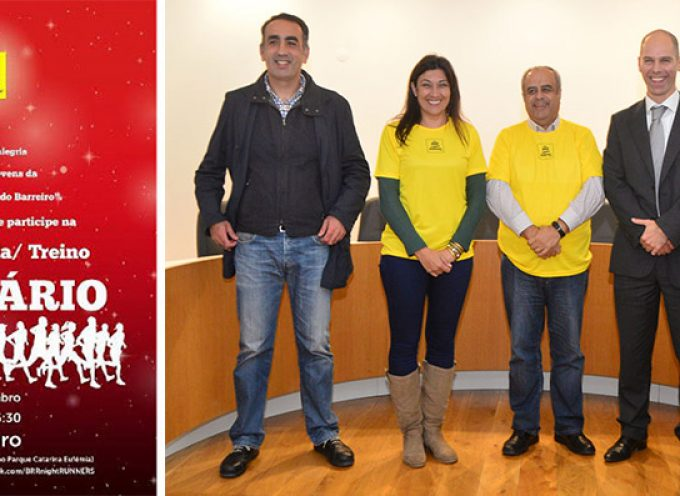 Autarquia do Barreiro recebe comitiva do Brr Night Runners
