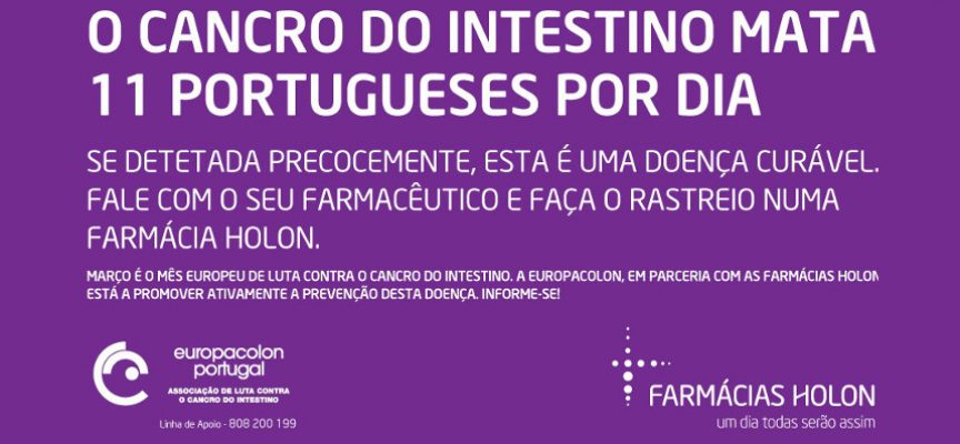 Europacolon promove rastreios gratuitos ao cancro do intestino no distrito de Setúbal