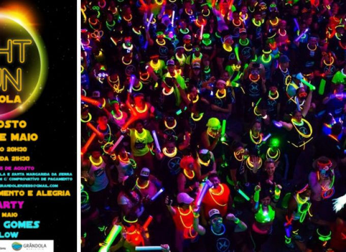 """1.ª Light Run"" promete iluminar Grândola"