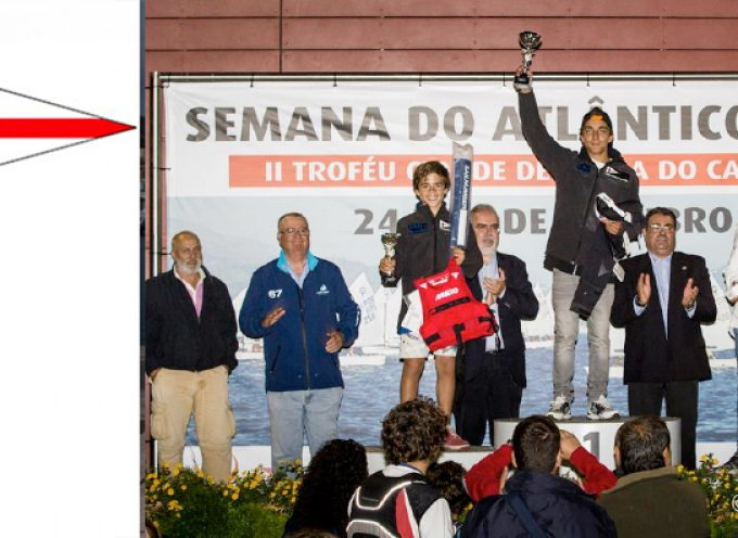 SEMANA DO ATLÂNTICO 2015 – Optimist – Velejadores do Clube de Vela do Barreiro no pódio