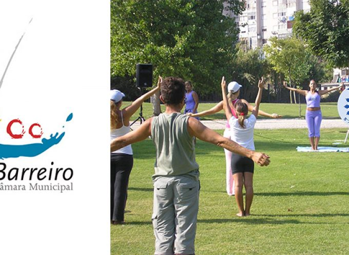 """Yoga no Parque"" este domingo no parque da cidade"