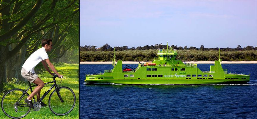Atlantic Ferries incentiva travessia do Sado em bicicleta