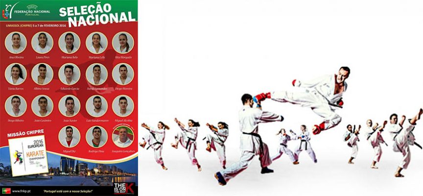 Karateca Almadense do KCMS convocado para 43º Campeonato Europeu Karate