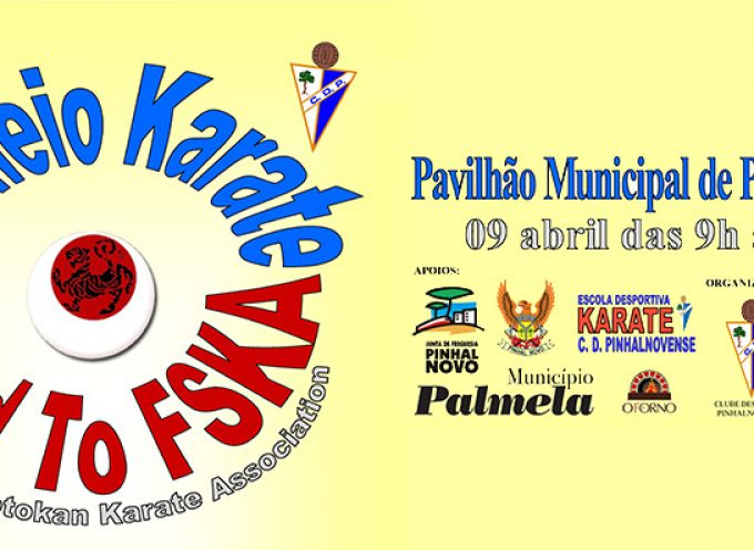 1º Torneio Karate Road To FSKA no Pinhal Novo