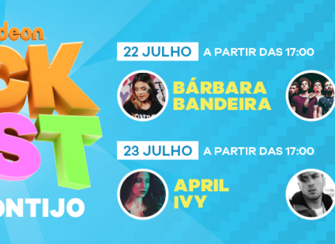 Festival Nick Fest O Primeiro Festival Teen do país no Forum Montijo