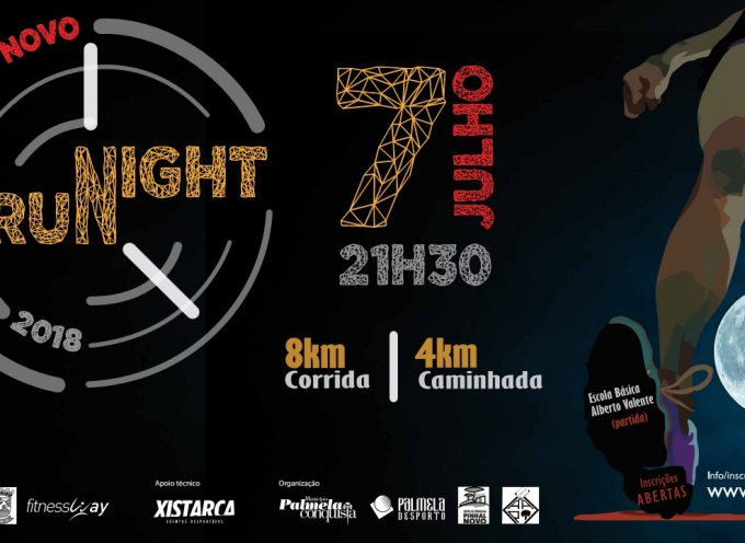 Pinhal Novo Night Run 2018 – Trânsito e estacionamento condicionados