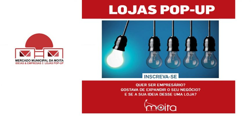 Lojas Pop-Up no Mercado Municipal da Moita