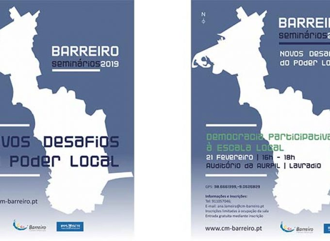 Município do Barreiro e IPPS – ISCTE promovem debate sobre Democracia Participativa à Escala Local