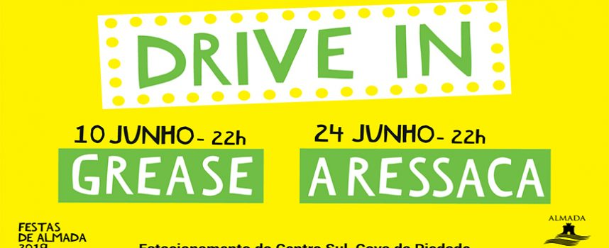 Almada revive tradição do Drive In