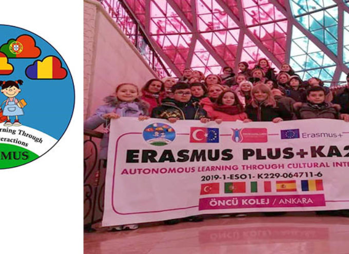 "Agrupamento de Escolas do Barreiro desenvolvem projecto ""AUTONOMOUS LEARNING THROUGH CULTURAL INTERACTIONS"" no âmbito do programa Erasmus + KA 229"