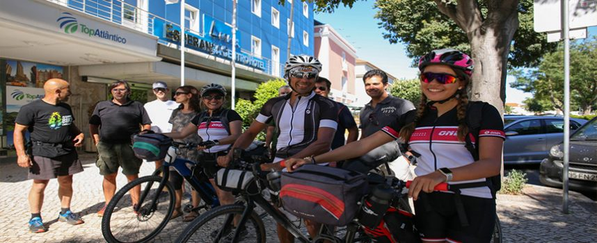 Bike Around Portugal: passagem por Setúbal